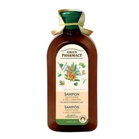 Green Pharmacy Lipové kvety a Olej z rakytníka šampón pre suché a poškodené vlasy 350 ml
