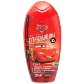 Disney Cars McQueen 2v1 šampón a kondicionér 200 ml