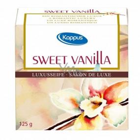 Kappus Sweet Vanilla - Sladká Vanilka luxusné toaletné mydlo 125 g