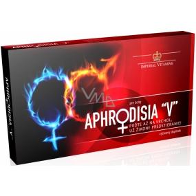 Imperial Vitamins Aphrodisia V pre ženy, napomáha k zvýšeniu sexuálnej túžby, doplnok stravy 10 kapslí