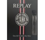 Replay Tank Custom Men toaletná voda 2 ml vialka