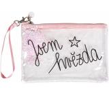 Albi Dúhová kozmetická taška Som hviezda 22 x 15 cm