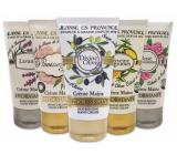 Jeanne en Provence Levanduľa krém na ruky 75 ml + Pivoňková víla krém na ruky 75 ml + Oliva krém na ruky 75 ml + Verbena a citrón krém na ruky 75 ml + Podmanivá ruže krém na ruky 75 ml, kozmetická sada