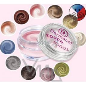 Dermacol Pearl Touch Eyeshadow vysoko trblietavé penové očné tiene 4,9 g odtieň 1