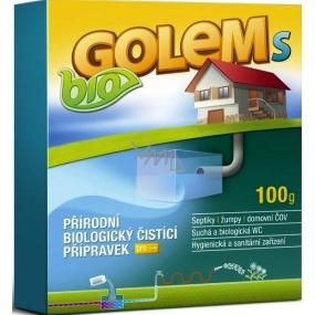 Bio Golem S přírodní biologický přípravek do septiků a žump 100 g