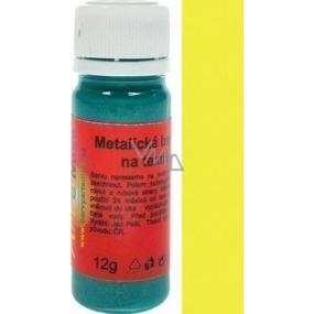 Artemiss Barva na textil 62 metalická žlutá 12 g
