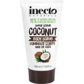 Inecto Naturals Coconut telový peeling s čistým kokosovým olejom 150 ml