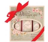 Bohemia Gifts & Cosmetics Nostalgia Spa koupelová lázeň 250 ml + sprchový gel 200 ml + vlasový šampon 200 ml, kosmetická sada