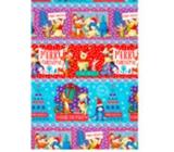 Ditipo Vánoční balicí papír dětský barevný Disney Medvídek Pú 100 x 70 cm 2054909 2 kusy