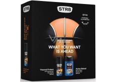 Str8 Thermal Protect 48h antiperspirant deodorant sprej pro muže 150 ml + Active Reload sprchový gel 250 ml, kosmetická sada