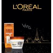Loreal Paris Elseve Extraordinary Oil Kokosový olej šampón pre normálne až suché, nepoddajné vlasy 250 ml + Huile Extraordinaire Coco maska na vlasy 300 ml, kozmetická sada