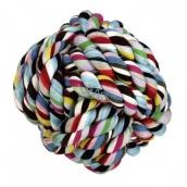 Trixie Bavlna Lopta aportovacia farebný hračka pre psov 5,5 cm
