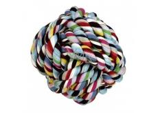 Canis Míč bavlna aportovací barevný hračka pro psy 5,5 cm