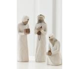 Willow Tree - Tři králové Sledovali hvězdu a našli světlo světa Nejvyšší figurka má 21 cm