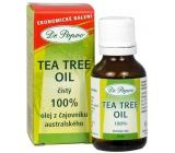 Dr. Popov Tea Tree Oil 100% čistý olej z čajovníka austrálskeho, s antiseptickými účinkami 25 ml