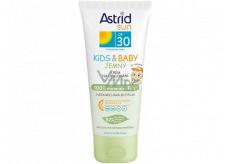 Astrid Sun Kids & Baby OF30 jemný krém na opaľovanie 100 ml