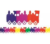 Girlanda Vláčik farebná 400 x 18 cm