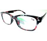 Berkeley Čítacie dioptrické okuliare +1 plast čierno-červené 1 kus MC2197