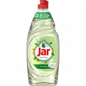 Jar Natural Scents Bergamot & Ginger prostriedok na ručné umývanie riadu 650 ml