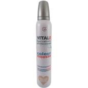 Vitale Exclusively Professional farbiace penové tužidlo s vitamínom E Pearl Beige - Perleťovo béžová 200 ml
