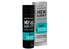 Dermacol Men Agent 2v1 Hydratačný gél, krém a balzam po holení 50 ml