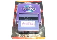 Albi Razítko se jménem Janička 6,5 cm × 5,3 cm × 2,5 cm