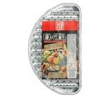 Alufix Fix-Grill grilovacie tácky polkruhové 4 kusy