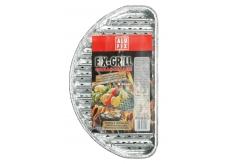 Alufix Fix-Grill grilovací tácky půlkulaté 4 kusy