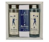 Bohemia Gifts & Cosmetics Sportsman sprchový gél 250 ml + šampón na vlasy 250 ml + toaletné mydlo 145 g, kozmetická sada