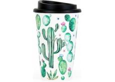 Albi Dizajnový cestovný hrnček Kaktusy 350 ml