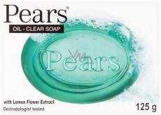 Pears Lemon Green toaletné glycerínové mydlo 125 g