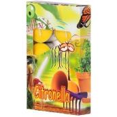 ČAJOVÁ sviečka vonná Citronella 6ks 1397