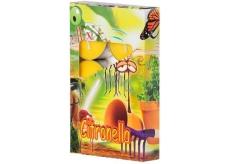 Adpal Citronella repelentný vonné čajové sviečky proti komárom 6 kusov
