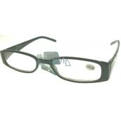 Berkeley Čítacie dioptrické okuliare +4,0 plast čierne stranice s kamienkami 1 kus MC2154