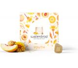 Waterdrop YOUTH - Načerpaj sviežosť broskyňa, zázvor, ženšen microdrink osviežujúci 12 kapslí