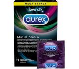 Durex Mutual Pleasure kondóm nominálna šírka: 56 mm 16 kusov