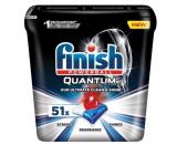 Finish Quantum Ultimate tablety do umývačky, chráni riadu a poháre, prináša oslnivú čistotu, lesk 51 kusov
