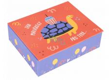Albi Hracie krabička na peniaze Korytnačka 11 x 9 x 3,5 cm