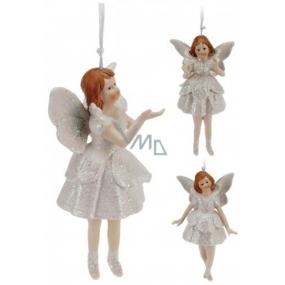Anjel porcelán zvonček mix 13 cm