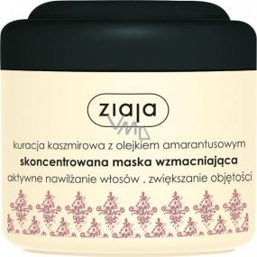 Ziaja Kašmír kúra s amarantovým olejom posilňujúci maska na vlasy 200 ml