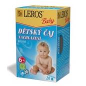 Leros Baby Nachladnutie bylinný čaj pre deti 20 x 2 g