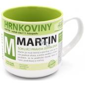 Nekupto Hrnkoviny Hrnček s menom Martin 0,4 litra