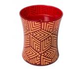 Woodwick Crimson Berries - Červené bobule vonná sviečka s dreveným knôtom a viečkom sklo stredné 275 g Holiday limitid 2018