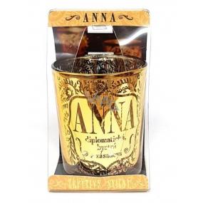 Albi Třpytivý svícen ze skla na čajovou svíčku ANNA, 7 cm