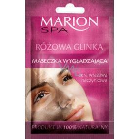 Marion SPA Růžový jíl vyhlazující maska pro citlivou pokožku 8 g