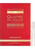Boucheron Quatre En Rouge parfémovaná voda pro ženy 2 ml s rozprašovačem, Vialka