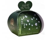 English Soap Konvalinka z údolia prírodné parfumované mydlo s bambuckým maslom 3 x 20 g