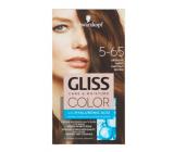 Schwarzkopf Gliss Color farba na vlasy 5-65 Orieškovo hnedý 2 x 60 ml