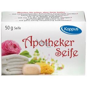 Kappus Apotheker antibakteriálne lekárske veľmi jemné toaletné mydlo 50 g