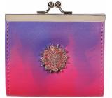 Albi Original Peňaženka s klipom Mandala 10 x 9 cm